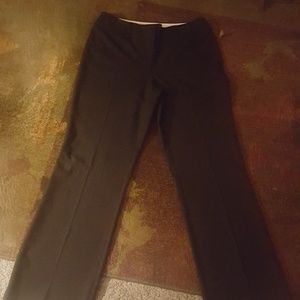 Loft Women's Black Pants Size 10